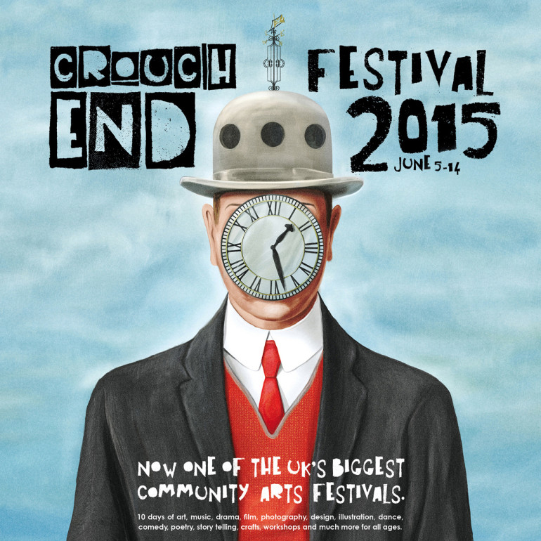 Crouch End Festival 2015 Poster